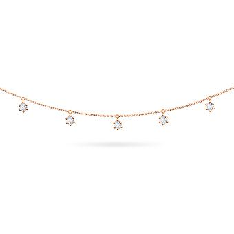 Body Chain Cosmos 18K Gold and Diamonds - Rose Gold, Large