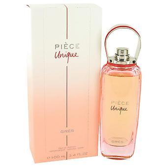 Piece Unique Eau De Parfum Spray By Parfums Gres 3.4 oz Eau De Parfum Spray