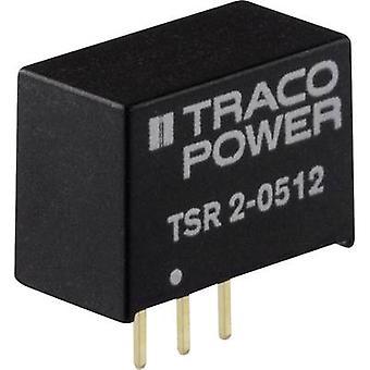 TracoPower TSR 2-2450 DC / DC محول (الطباعة) 24 V DC 5 V DC 2000 mA رقم. من النواتج: 1 x
