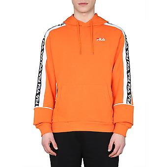 Fila 687708a485 Herren's Orange Baumwoll Sweatshirt