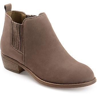 Journee Collection Women's Shoes Ramsey Suede Closed Toe Ankle Fashion Boots