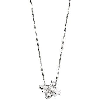 Elements Silver Bee Pendant - Silver
