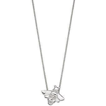 elementer sølv bie anheng - sølv