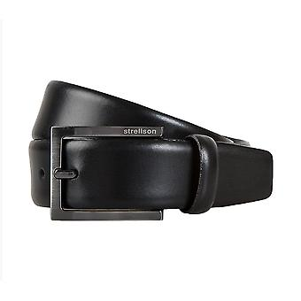 Strellson belts men's belts leather belts men's leather black 1296