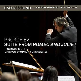 Prokofiev / Muti / Chicago Sym Orch - Suite From Romeo & Juliet [CD] USA import