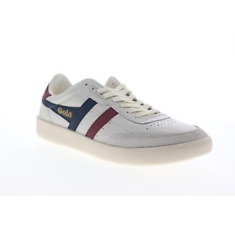Gola Inca Leather  Mens Beige Tan Lace Up Lifestyle Sneakers Shoes