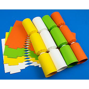 8 Spring Coloured Make & Fill Your Own DIY Recyclable Cracker Craft Kit