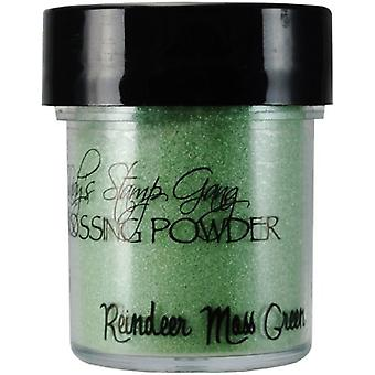 Lindy's Stamp Gang Reindeer Moss Green Embossing Powder