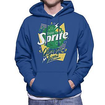 Sprite 90s Bottlecap Obey Your Thirst Men's Hooded Sweatshirt