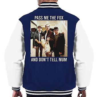 Friday Night Dinner Pass Me The Fox Men's Varsity Jacket