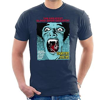 Hammer Horror Films Vampire Circus Greatest Blood Show Men's T-Shirt