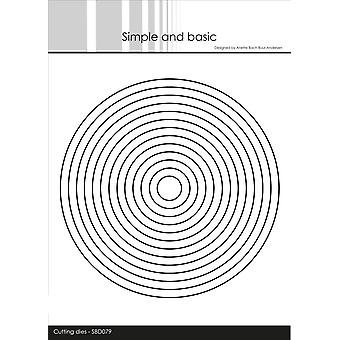 Simple and Basic Circles Dies
