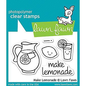 Lawn Fawn klare Briefmarken - machen Limonade