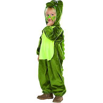 Krokotiili jumpsuit yksiosainen krokotiili puku matelija lapset puku