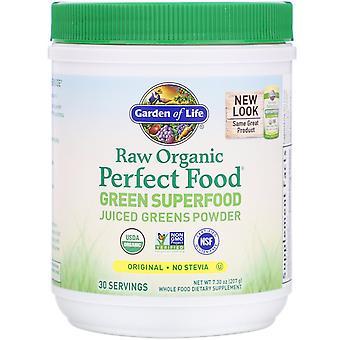 Livets trädgård, RAW Ekologisk, Perfekt mat, Grön Superfood, Original, 7.30 oz (2