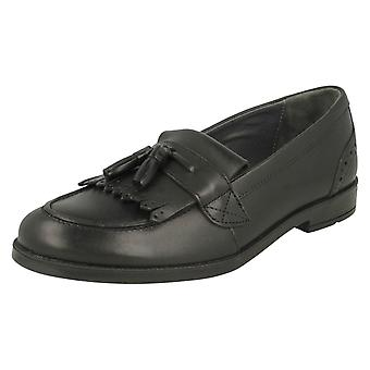 Girls Startrite Formal Loafer Shoes Sketch