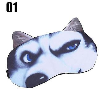 3d Cat Sleeping Eye Mask - Soft Portable Eyeshade Cover Blinddoek