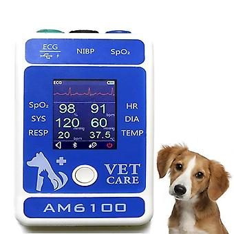 2.4 Inch TFT LCD Display Portabil Veterinar SPO2 Bluetooth Pacient Monitor