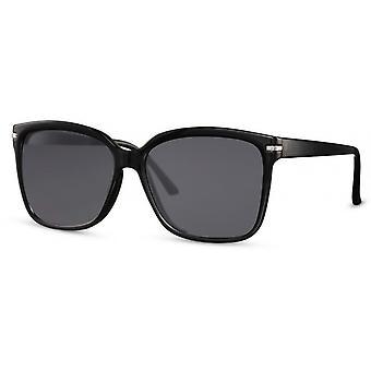 النظارات الشمسية النساء wayfarer كات. 3 مات الأسود / الفضة