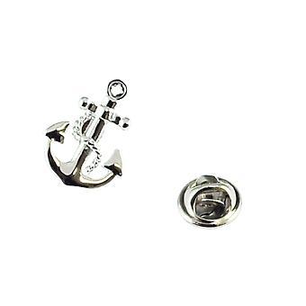 Odznak špendlíku na kotvu a řetězové klopě na vázácích čepů