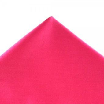Legături Planet Plain Bright Pink Pocket Square Batista