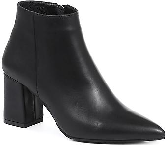 Jones Bootmaker Womens Heeled Leather Ankle Boots