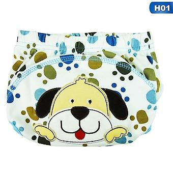 Kinderen Cartoon Potty Lek-proof Luiers Training Pants Katoen Slipje 80 90