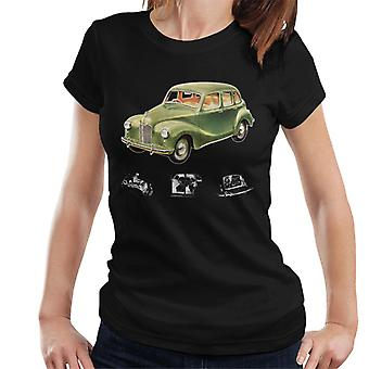 Austin X Ray Interior British Motor Heritage Women's Camiseta