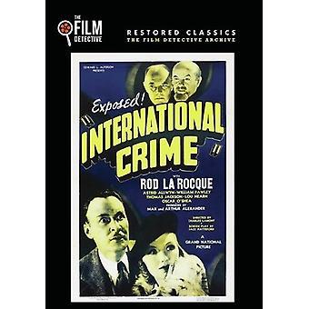 International Crime [DVD] USA import