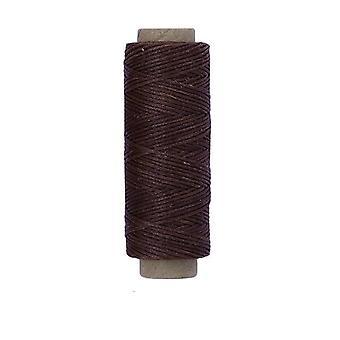 Multicolor, durable cuero encerado hilo de hilo para diy cosido artesanal y