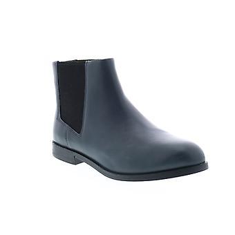 Camper Bowie Womens Blue Leather Slip Em Botas Chelsea