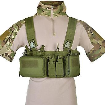 Match Wargame Tcm, Chest Rig, Airsoft Tactical Vest, Military Pack, Magazine