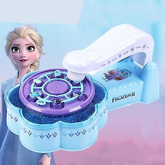 Disney Nieuwe Prinses Bevroren Nail Sticker Set, Cartoon Patroon Nail Suit Play