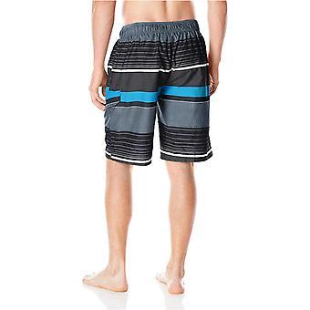 Kanu Surf Men's Barracuda Swim Trunks (Regular & Extended Sizes), Viper Black...