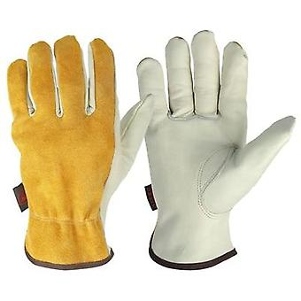 Ozero Sports Motorcycle Gloves- The Cowhide Moto Racing Ride Gloves, Windproof