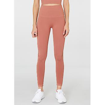 Jerf  Womens Sanibel Cinnamon Seamless Active Leggings Econyl