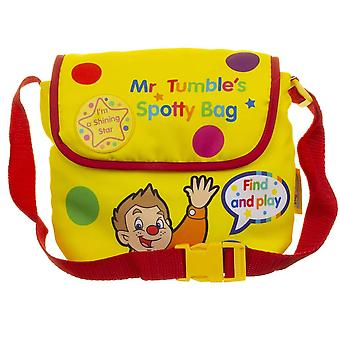Mr Tumble's Surprise Spotty Bag with Adjustable Straps for Ages 36 months+ and