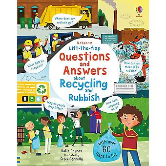 Lift-The-Flap Q&A About Recycling & Rubbish