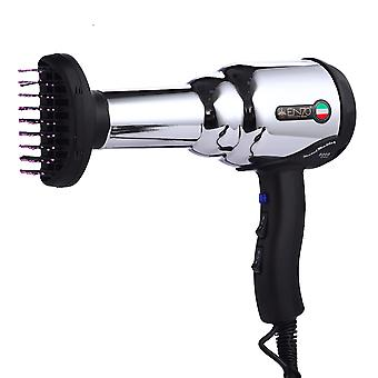 Professional Hair Dryer - 8000w Metal Body, Hot/cold With Air Collecting Nozzle