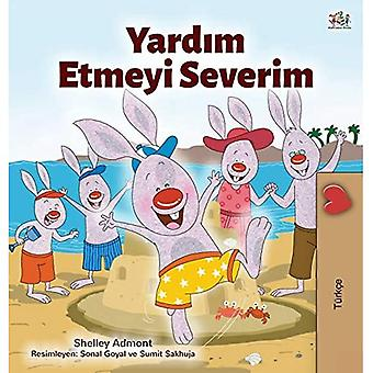 I Love to Help (Turkish Children's Book) (Turkish Bedtime Collection)