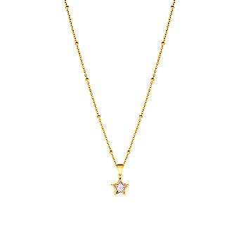 Princess Lillifee children necklace silver gold star girl 2029721