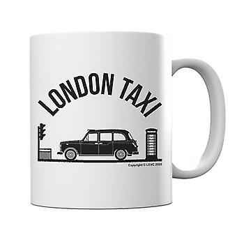 London Taxi Company TX4 At Traffic Lights Mug