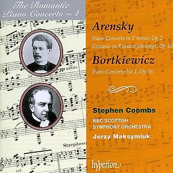 Arensky/Bortkiewicz - Arensky: Piano Concerto, Op. 2; Fantasia, Op. 48; Bortkiewicz: Piano Concerto No. 1, Op. 16 [CD] USA import