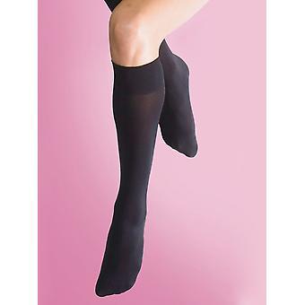 Silky Soft Opaque Knee Highs