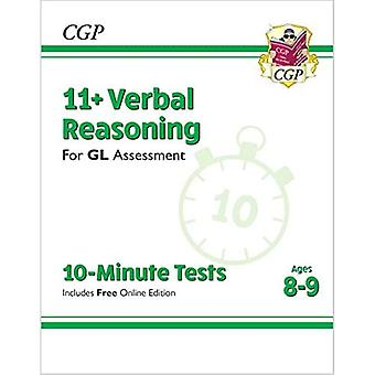New 11+ GL 10-Minute Tests: Verbal Reasoning - Ages 8-9 (with Online Edition)