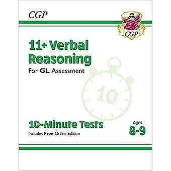Nye 11 + GL 10-minutters tests: verbal ræsonnement-aldre 8-9 (med online udgave)