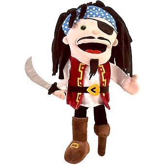 Fiesta Crafts Pirate Hand Puppet with Moving Mouth