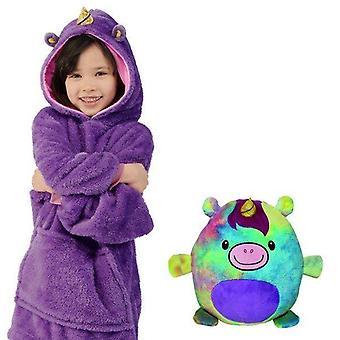 Lieve huisdieren jas, dinosaurus hooded sweatshirt warme winterjassen
