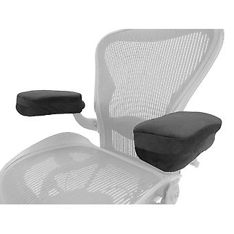 Arm-Eaz Büro und Gaming Stuhl Armlehnenabdeckungen, Memory Schaum Arbeitsplatz Schreibtisch Stuhl Armpolster Kissen