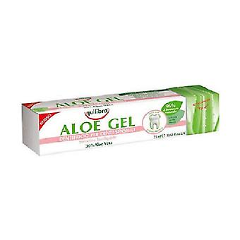 Aloe Gel Toothpaste Sensitive Gums 75 ml of cream